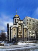 6. Церковь Казанской иконы на месте исторического храма. Современная фотография