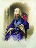 15. Гау В.И. Портрет митрополита Филарета. 1854 год