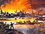 13. Нейман Ф. Пожар Москвы в 1812 году. Начало XIX века