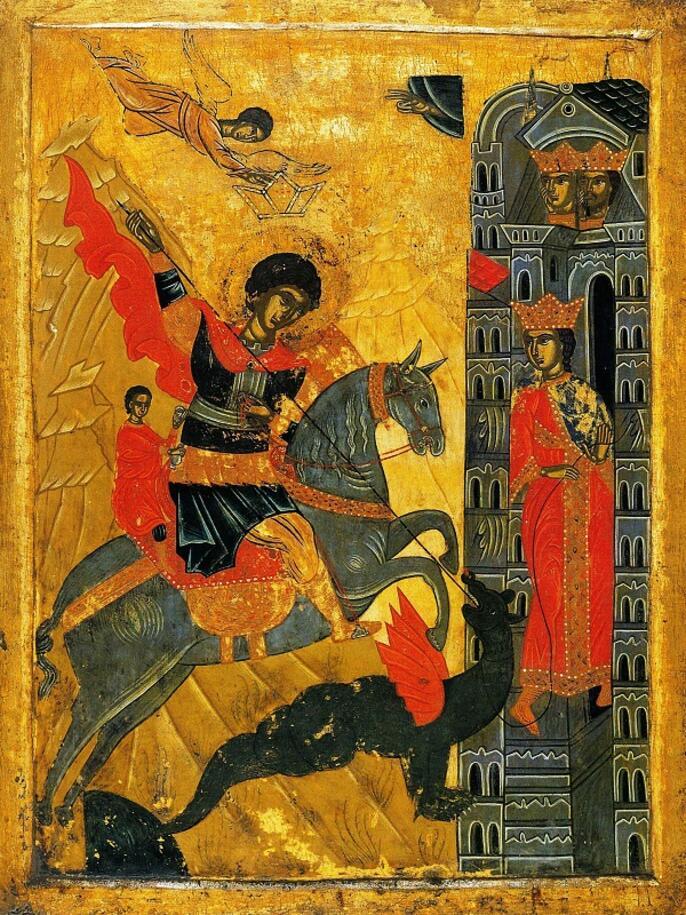 3. Икона великомученика Георгия. XVII век