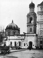16. Колокольня церкви Космы и Дамиана в Шубине. Фоторгафия 1930-х годов