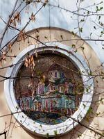 5. Церковь Казанской иконы Божьей Матери у Калужских ворот на мозаике