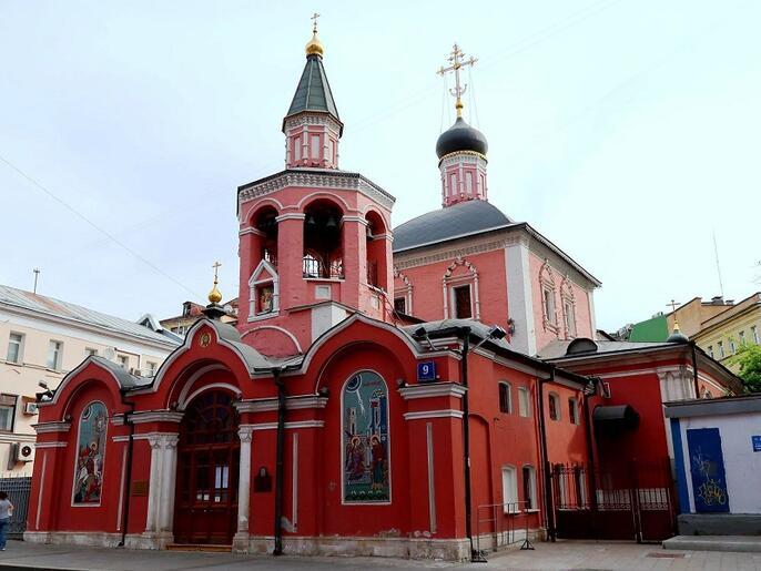 13. Церковь Георгия в Старых Лучниках. Современная фотография