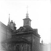 11. Никольский придел церкви Успения на Успенском вражке. Фотография начала XX века.