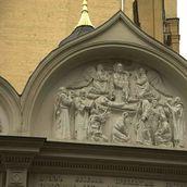 15. Рельефные изображения Успенского храма. Современная фотография.