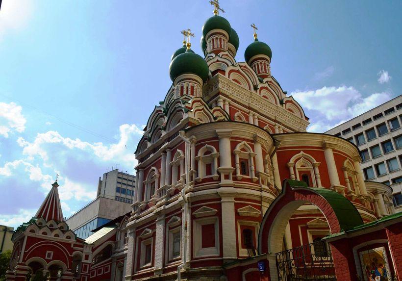 Китай город церкви рядом с метро фото