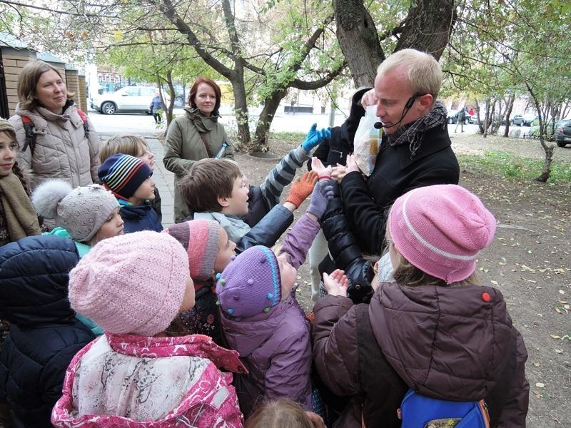 2. Детская экскурсия по Замоскворечью